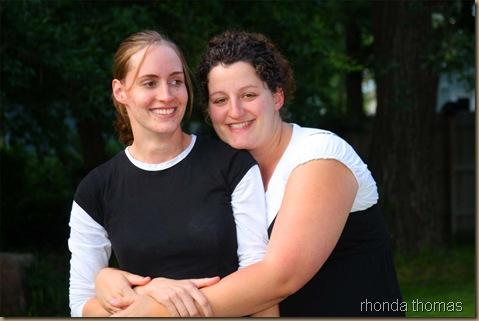 Lisa and Jill