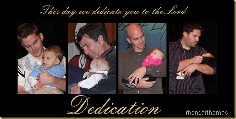 Dedication copy